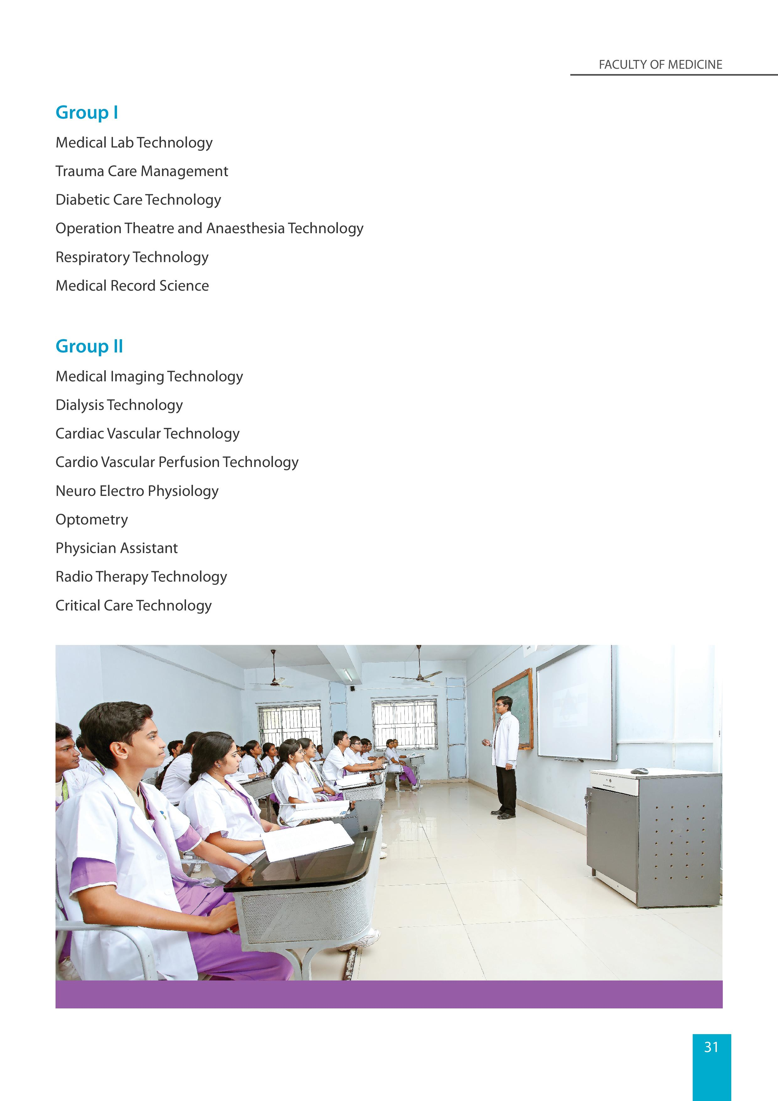 BSc Allied health Sciences page 002