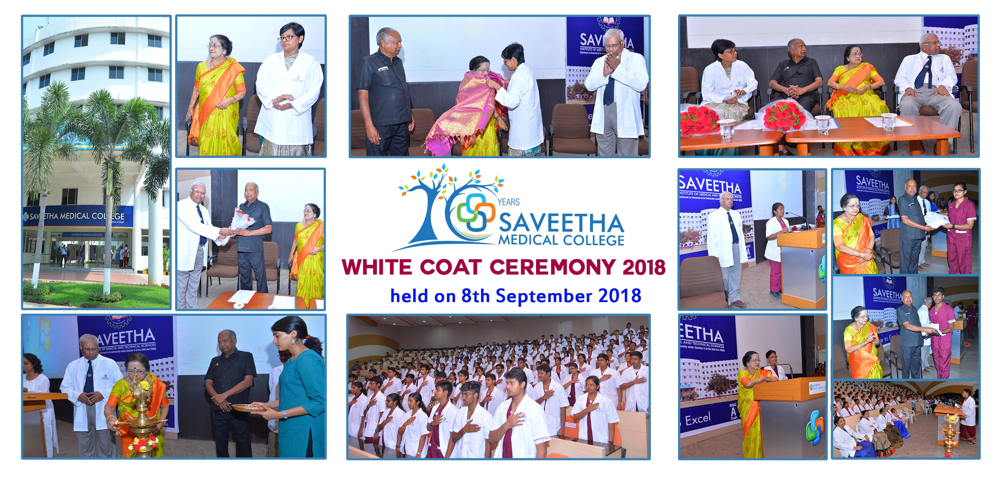 White Coat ceremony MBBS 2018